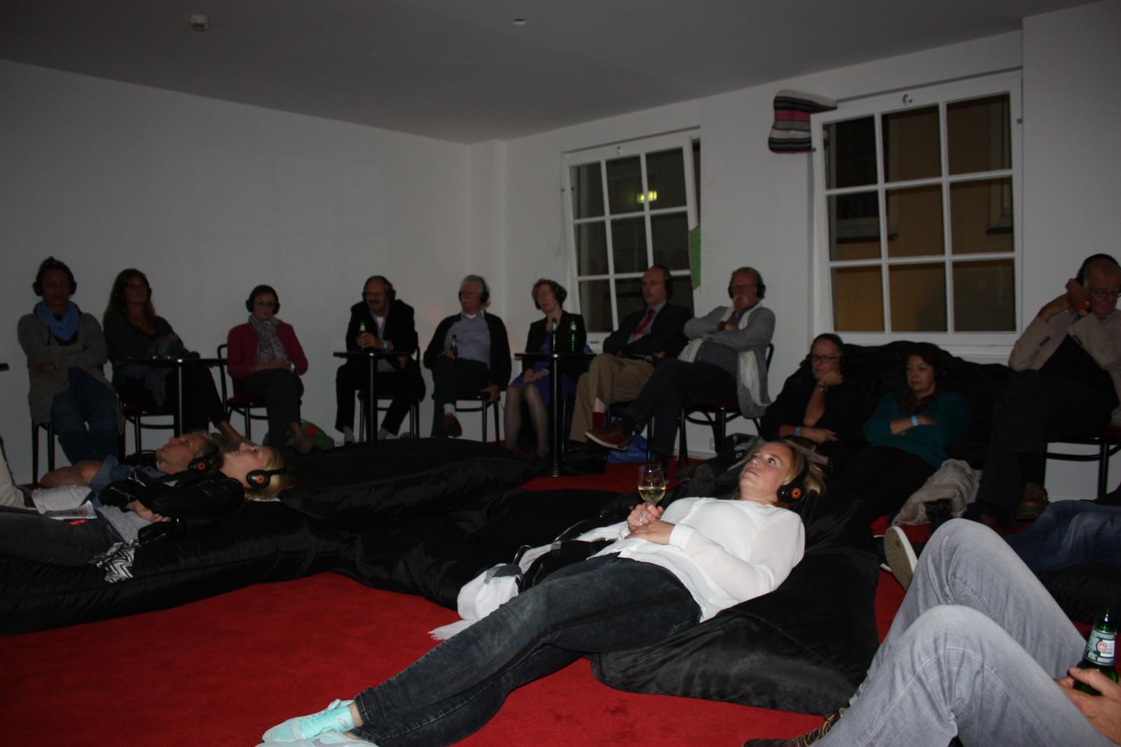 Podcasttheater Nacht van kunst en kennis