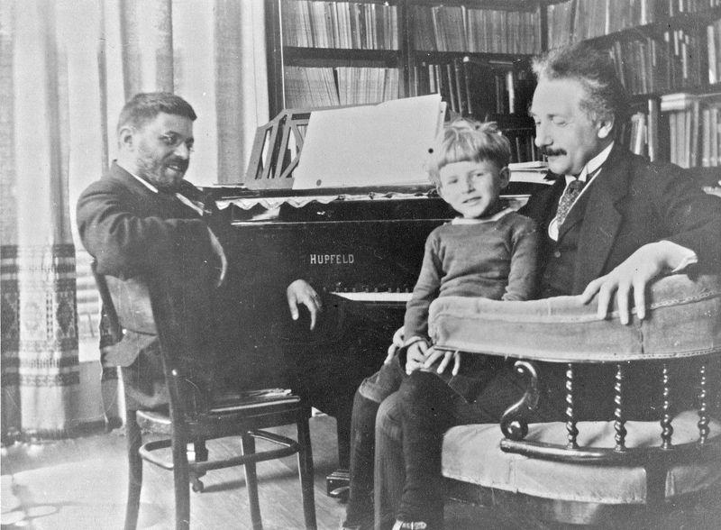 Ehrenfest en Einstein
